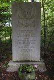 168th工程师作战营的纪念碑 免版税库存图片