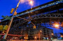125th街道地铁站-纽约 免版税图库摄影