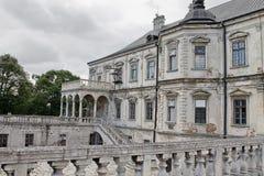 17th århundrade för Podgoretski slott Arkivbilder