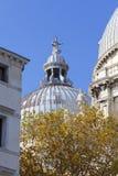17th århundrade kyrkliga Santa Maria della Salute, Venedig, Italien för barock fotografering för bildbyråer