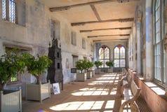 15th århundrade Sevenoaks för gammal engelsk herrgård Klassiskt engelskt bygdhus Royaltyfri Fotografi