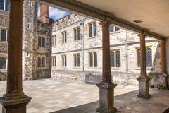 15th århundrade Sevenoaks för gammal engelsk herrgård Klassiskt engelskt bygdhus Fotografering för Bildbyråer