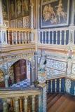 15th århundrade Sevenoaks för gammal engelsk herrgård Klassiskt engelskt bygdhus Royaltyfri Foto