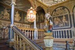15th århundrade Sevenoaks för gammal engelsk herrgård Klassiskt engelskt landssidohus UK Royaltyfria Bilder