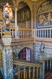 15th århundrade Sevenoaks för gammal engelsk herrgård Klassiskt engelskt landssidohus UK Arkivfoto