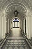 19th århundradebyggnadslobby Arkivfoton