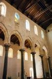 13th århundradeCefalu domkyrka i Cefalu, Sicilien Royaltyfria Bilder
