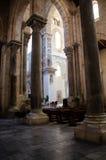 13th århundradeCefalu domkyrka i Cefalu, Sicilien Arkivbilder