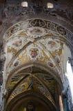 13th århundradeCefalu domkyrka i Cefalu, Sicilien Royaltyfri Bild
