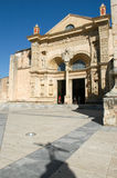 16th århundradedomkyrka av Santo Domingo Fotografering för Bildbyråer