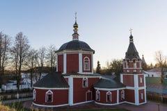 15th århundradekyrka av Assumptionin Suzdal Guld- Ring Travel av Ryssland Arkivbilder