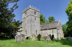 11th århundradekyrka, England Royaltyfri Fotografi
