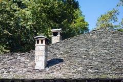 13th århundradekyrka, Metsovo, Grekland Royaltyfri Foto