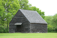 19th århundradeladugård i den New York staten Arkivfoton
