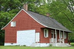 19th århundradelantgårdhus i den New York staten Royaltyfria Bilder