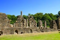 13th århundradepriorskloster fördärvar Arkivbilder