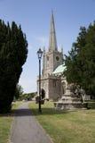 13th århundradesomerset kyrka Royaltyfri Foto