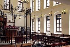 19th århundradesynagoga Ohel Yitzchak Royaltyfri Foto