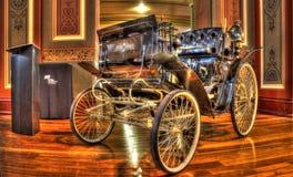 19th århundradetappningBenz Velo bil Fotografering för Bildbyråer
