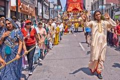 40th årliga festival av Indien Arkivbilder