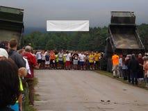18th årliga Marine Mud Run Royaltyfri Fotografi