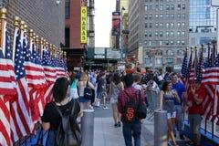 15th årsdag av 9/11 71 Arkivfoto