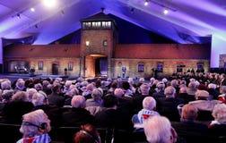 70th årsdag av den Auschwitz befrielsen Royaltyfria Bilder