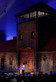 70th årsdag av den Auschwitz befrielsen Royaltyfri Fotografi