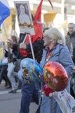 70th årsdag av Victory Day i Ryssland Royaltyfri Bild