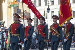 70th årsdag av Victory Day i Ryssland Arkivfoto