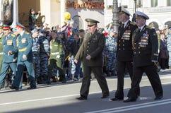 70th årsdag av Victory Day i Ryssland Fotografering för Bildbyråer