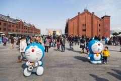 80th årsdag Doraemon Royaltyfri Fotografi