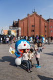 80th årsdag Doraemon Royaltyfri Fotografi