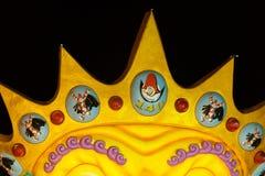 140th édition du carnaval de Viareggio Image libre de droits