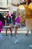 140th édition du carnaval de Viareggio Photo stock