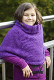 2th συγκεχυμένα έτη κοριτσιών Στοκ φωτογραφία με δικαίωμα ελεύθερης χρήσης