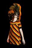 th волос moving Стоковые Изображения