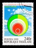 10th годовщина Зоны свободной торговли, serie, около 1999 Стоковая Фотография RF