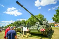 26th годовщина хорватских вооруженных сил страны Стоковые Изображения RF