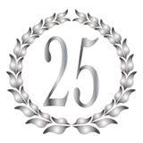 25th годовщина Стоковое Фото