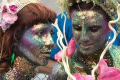 35th ежегодный остров кролика NY парада русалки Стоковая Фотография