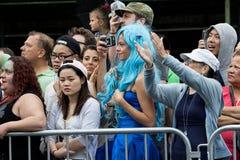 35th ежегодный остров кролика NY парада русалки Стоковое Фото