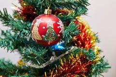 28th деталь в декабре рождества предпосылки 2010 изолированная над принятой фото белизной вала Стоковое Фото