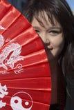 115th золотой парад дракона, китайский Новый Год, 2014, год лошади, Лос-Анджелес, Калифорния, США Стоковое фото RF