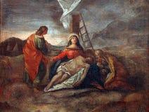 13th крестный путь Стоковые Фото