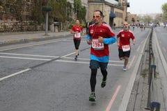 10th марафон Стамбула половинный Стоковые Фото