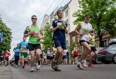 24th марафон Nordea Риги Стоковое Изображение