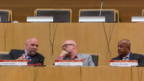 10th международная конференция на ICT для развития, образования Стоковая Фотография RF