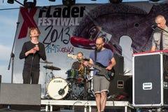 10th музыка фестиваля flounders. Стоковое фото RF
