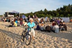 10th музыка фестиваля flounders. Стоковая Фотография